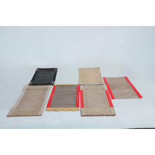 hot saling non stick PTFE coated fiberglass fabric open mesh fabric