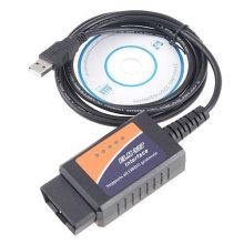 OBD2 Elm327 USB Scanner plástico 25k 80 e FT232rl o Chip