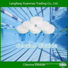 Produits chimiques désinfectants à haute efficacité dans la piscine