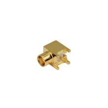 Rechtwinklige MCX-Kabelsteckerbuchse PCB-Steckverbinder