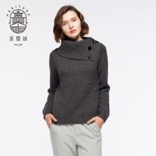 Sweater sweater kasmir womens turn-down