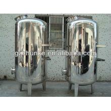 Boîtier de filtre machanical durable d'acier inoxydable de polissage 5t durable