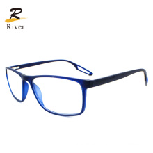 Colourful Hollow out Tip Square Tr Sports Optical Eyeglasses Frames