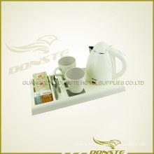 Calentador de agua de doble cubierta blanco