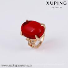 14740 xuping ювелирные изделия 18k золото покрытием моды новый элегантный золотое кольцо дизайн палец кольцо для женщин