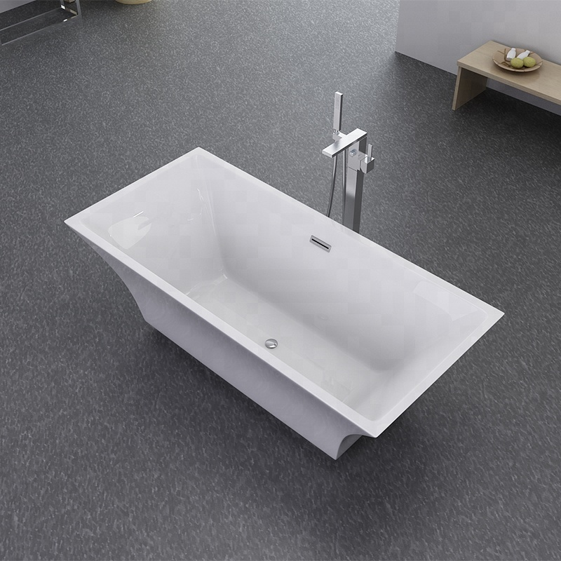Freestanding Bathtub in Shower