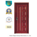Modern Style MDF Door with Solid Wood for Entrance (xcl-858)