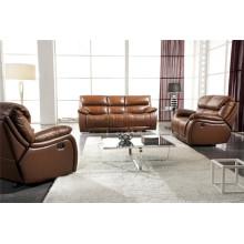 Living Room Genuine Leather Sofa (904)