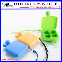 Promoção de alta qualidade Smile Face Portable Lovely Pillbox (EP-007)