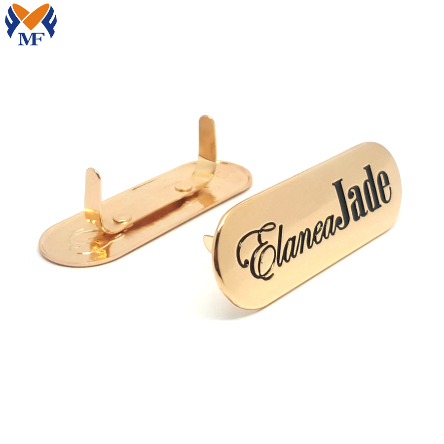 Metal Logo Bag Hardware