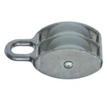 Fixed Nylon Pulley with Double Wheel Dr-504z