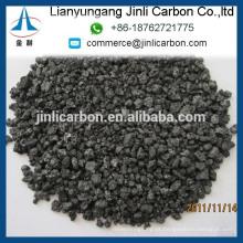 China alta qualidade GPC baixo teor de óleo de enxofre FC98.5% 1-5mm para fundição e fabricação de aço