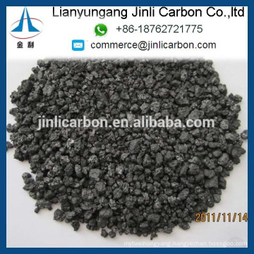 Calcined Petroleum Coke / High Sulfur Graphite S0.7% 1-5mm in stock for foundry