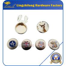 Masonic Logo Gold Cufflink Button Badge