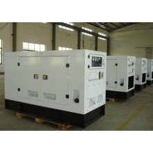Звуконепроницаемая дизельная генераторная мощность 100 кВА с двигателем Cummins