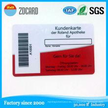13.56 MHz Tarjeta de Identificación Inteligente de Control de Acceso RFID con Stip Magnética