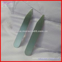 Custom Logo Metal Collar Stay / Shirt Collar Stay for High-End Quality Shirt (TC-LA1008)