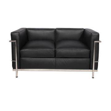 Replik Leder Le Corbusier LC2 Loveseat