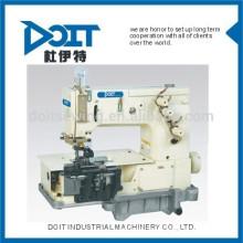 DT-2000C doble aguja de cama plana que hace la correa del lazo JAKLY multi aguja prenda de coser precio de la máquina de coser