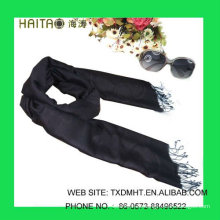 Bufanda de seda de belleza con estilo Jacquard 30% silk70% Acrílico