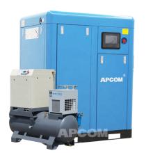Low Noise APCOM 30Hp 22kw Food Oilless Screw Air Compressor  Oil Free Air Compressor Air Compressor Price