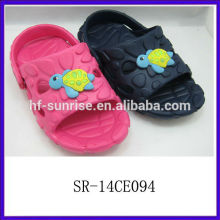 SR-14CE094 new stylish fashion eva kids slippers kids cute bedroom slippers cheap eva cartoon kids chinese slippers