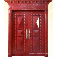 Classic Style Double Door with Carving