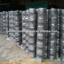 Alambre de acero con bajo contenido de carbono alambre cerca de pastizales para criar animales