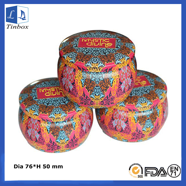 4 OZ Candle Tins Wholesale