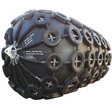 Defensa de goma neumática de yokohama de la nave del buque marino