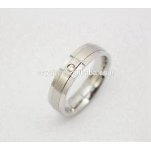 Trendy CZ Stone Wedding Crystal Engagement Ring