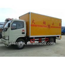 2014 venta caliente Dongfeng 4X2 5T Detonator camión de transporte