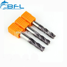 Herramientas de corte de carburo CNC BFL, herramientas de corte de carburo basto de madera Endmill