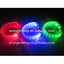 LED light bracelet HOT sell 2016