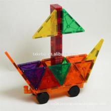 Award Winning Magnetic Stick N Stack 36 páginas a cores Livro de ideias com mais de 100 ideias de estrutura