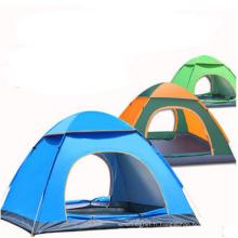 Tente de camping extérieure automatique à double couche imperméable pour 3-4 personnes