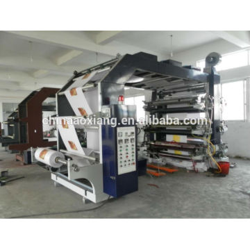 AXYT-61000 automática velocidad normal de seis colores máquina de impresión flexográfica