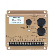Gerador elétrico do painel de controle do regulador da velocidade do motor