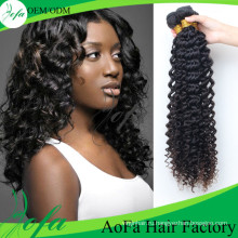 Горячий Стиль Глубокая Волна Парик Волос, 100%Необработанное Расширение Человеческих Волос