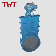 válvula de compuerta de cadena motorizada de 8 pulgadas con corredera de acero redonda