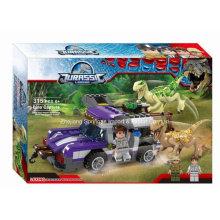 Boutique Building Block Toy for Jurassic Legend Dinosaur Escape 04