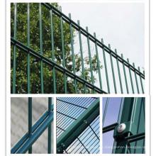 Revêtement PVC Double clôture pour maison / route / aire de jeux / Jardin / Bâtiment / Constance