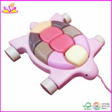2014 nouveau jouet de traction d'enfants de mode, jouet en bois d'enfant de drag W05b045