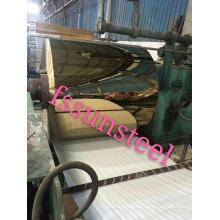 bobinas de color de acero inoxidable espejo GOLD PVD