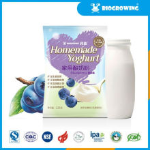 Blueberry geschmack acidophilus yolife joghurt maker