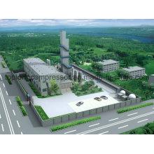 Для Lox Ln2 Завод Криогенная жидкость Генератор азота Генератор кислорода
