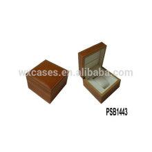 hochwertige Leder Uhrenbox für einzelne Uhr aus China Fabrik