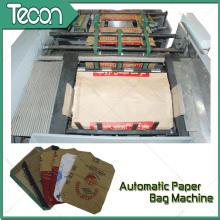Machine à sac en papier Kraft entièrement automatique à moteur pour ciment (ZT9804 et HD4913)