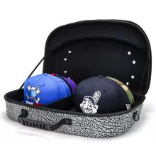 Custom Hard EVA Portable Waterproof Shockproof Travel Case for Hat with Zipper
