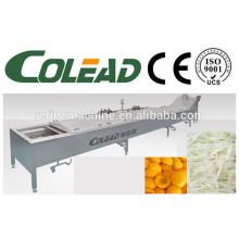 Stem máquina de pré-cozimento / folha de vegetais blanching máquina / cozinhar vegetais